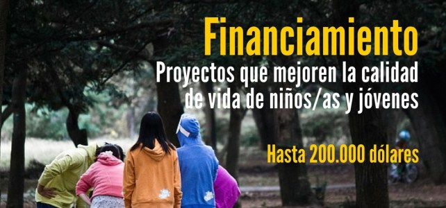 Financiamiento del Fondo Global para la niñez