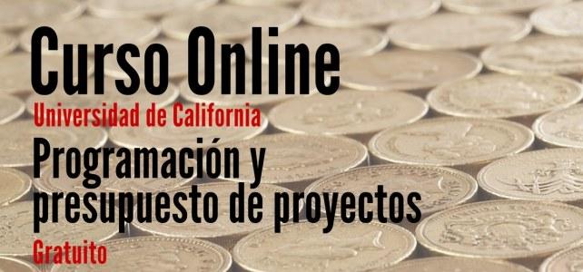 Curso online y gratuito sobre Programación y presupuesto de proyectos: TEC