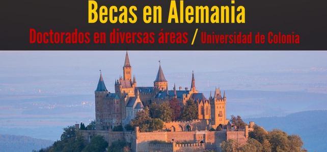 Becas en Alemania para cursar Doctorado en Diversas Áreas