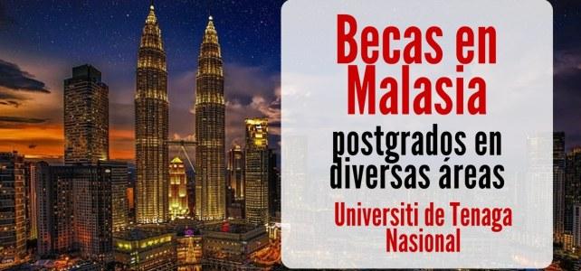 Becas en Malasia para cursar postgrados