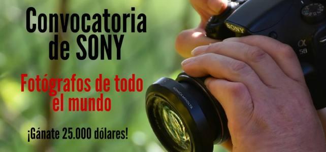 Convocatoria de fotografía con Sony