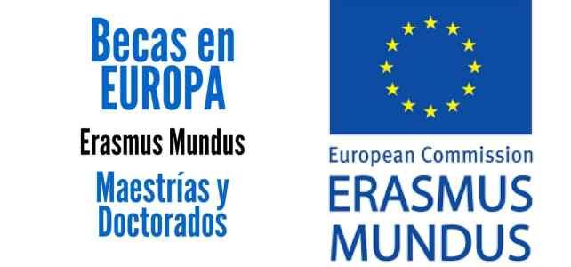 Becas Erasmus Mundus para cursar maestrías y doctorados