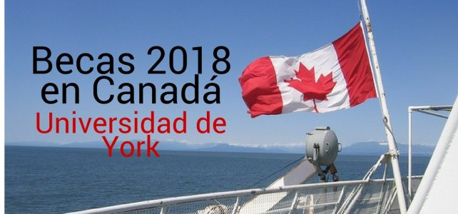 Becas en Canadá para el otoño 2018