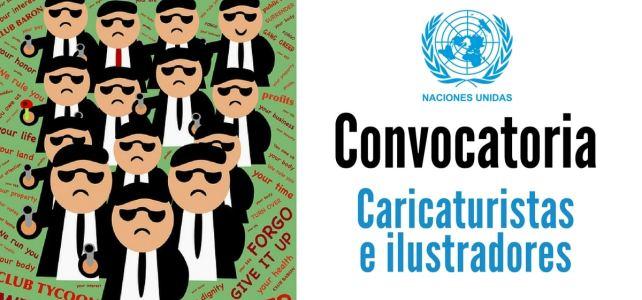 Convocatoria de la ONU para caricaturistas e ilustradores a nivel mundial