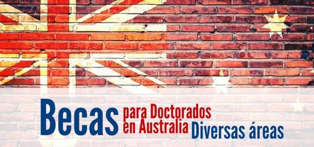 Becas en Australia para cursar doctorados.