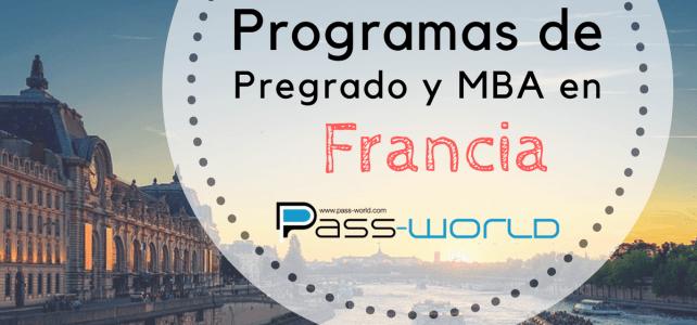 Programas de licenciatura en Administración y Maestría MBA en Francia