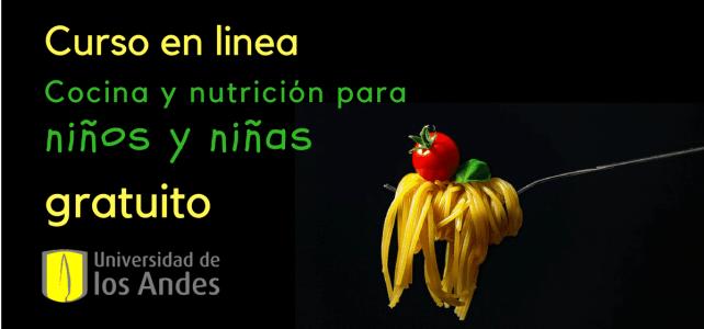 Curso online de cocina y nutrición para niños y niñas