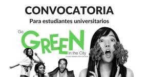Convocatoria para estudiantes universitarios Go Green in the City – Viaja a USA sin costo