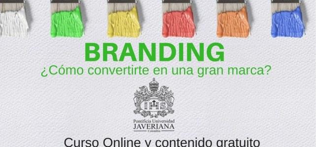 Curso online gratuito de branding !