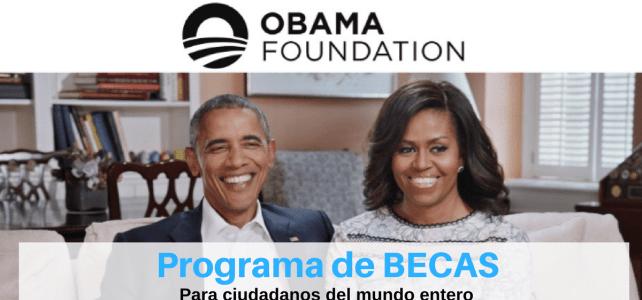Programa de becas completas de la Fundación Obama