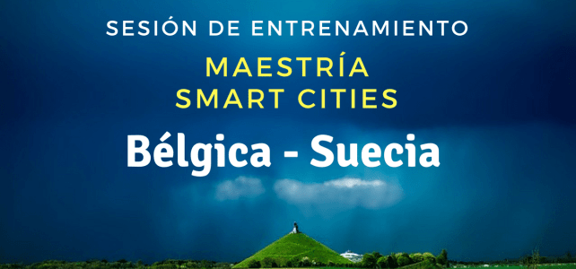 Sesión de coaching maestría en Smart Cities