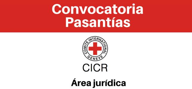 Convocatoria pasantías con el CICR
