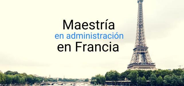 Master Internacional en Management en Francia!