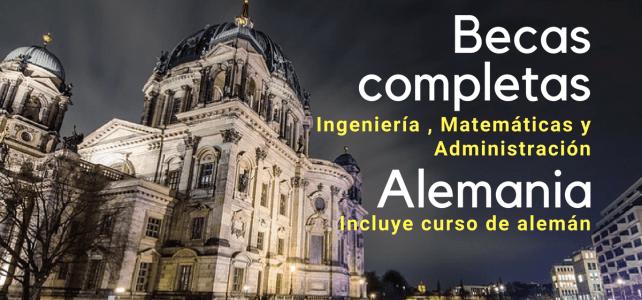 Becas completas en Alemania para posgrados en Ingenierías – EPOS