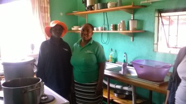 Nomsa and Thembi at K2