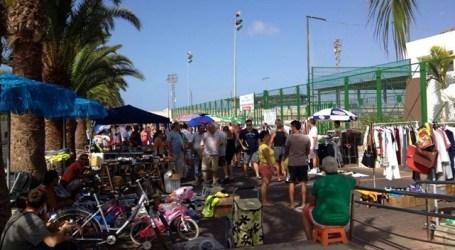 San Fernando de Maspalomas atrae a más visitantes al rastro dominical