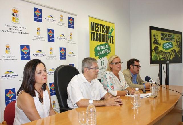 """""""En busca de Valentina"""", presentación en Maspalomas"""