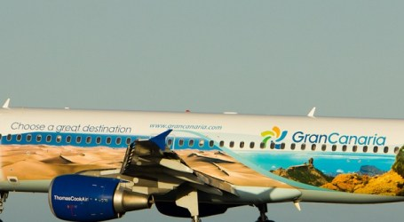 Gran Canaria vuela a medio mundo en el Airbus 320 de Thomas Cook