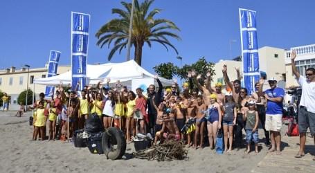 Voluntarios limpiaron El Pajar de basura vertida por el hombre
