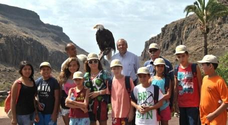 Los niños del colegio de San Ildefonso visitan Palmitos Park