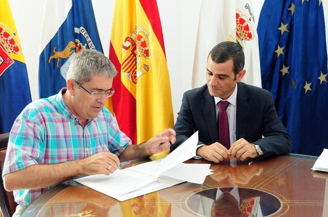 Marco Aurelio Pérez y Pedro Castro Cruz