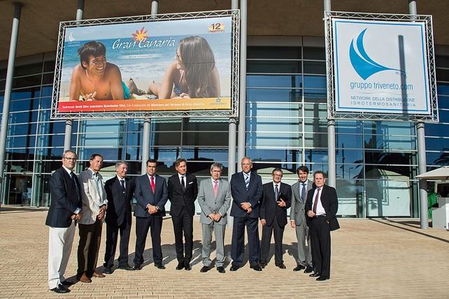 Inauguración en ExpoMeloneras del XII Congreso del Grupo Triveneto
