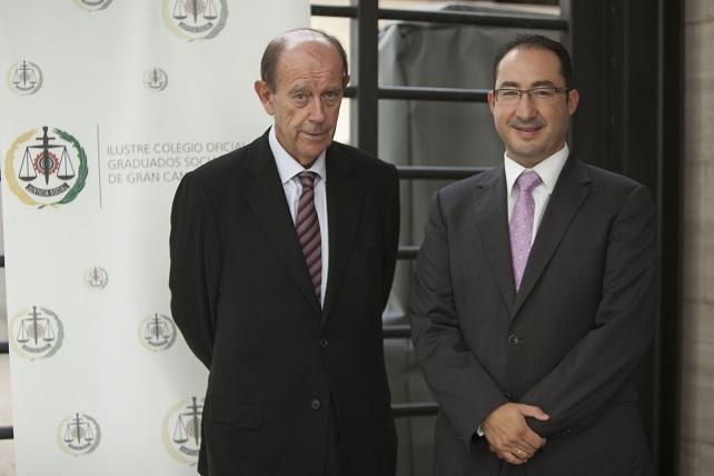 Tomás Sala Franco y José Ramón Dámaso (foto: Ángel Medina)
