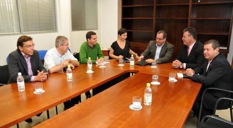 Marco Aurelio Pérez asiste a la reunión de alcaldes de la Mancomunidad de Medianías