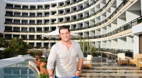 Manu Tenorio alojado en el Seaside Palm Beach de Maspalomas