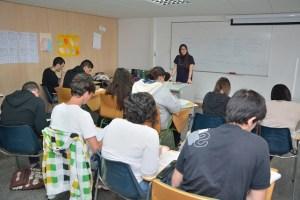 Jóvenes desempleados grancanarios estudian alemán en el Aula de Idiomas de la ULPGC