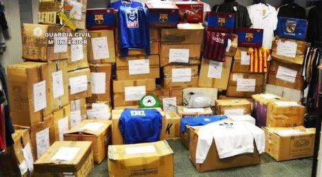 Requisan en el sur de Gran Canaria productos falsos valorados en más de un millón de euros