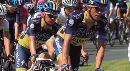 Alberto Contador encabeza la 'Marcha Popular' en bicicleta de Mogán
