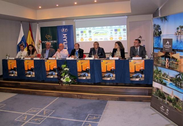 Rallye de Maspalomas, presentación (foto: lopesan.com)