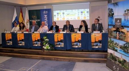 El XL Rallye de Maspalomas se presentó en el hotel Lopesan Villa del Conde