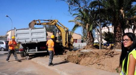 El Ayuntamiento de San Bartolomé de Tirajana repone el muro de la calle Secundino Delgado