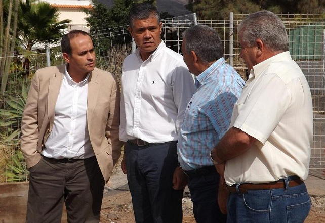 El consejero Antonio Hernández Lobo visita Mogán