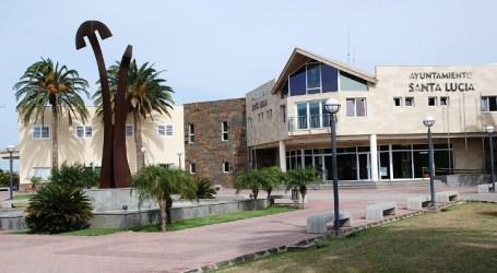 Santa Lucía termina el año con 43 personas empleadas en el Ayuntamiento por 6 meses