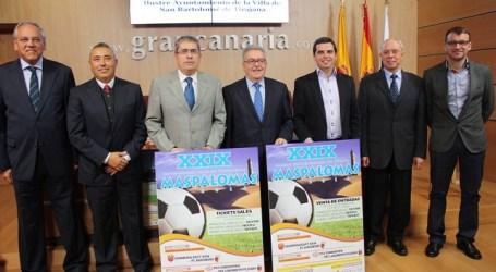Tres equipos europeos y uno chino participan en el Torneo Internacional de Fútbol de Maspalomas