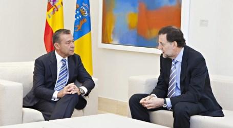 El encuentro de Rivero con Rajoy concluirá sin compromisos para los problemas de Canarias