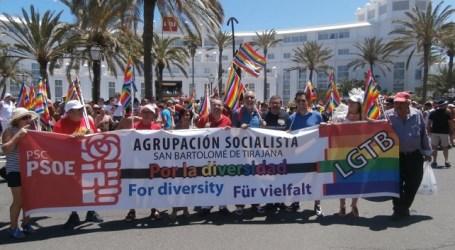 El PSOE de San Bartolomé de Tirajana rechaza las leyes homófobas del gobierno de Putin