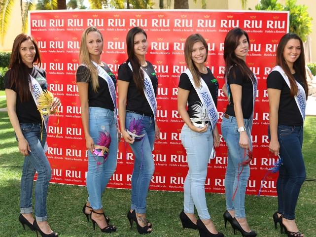 Candidatas a Reina del Carnaval Internacional de Maspalomas 2014