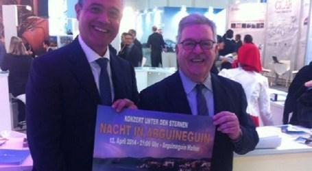 Mogán presenta en Berlín la 'Noche en Arguineguín', con el concierto de la OFGC