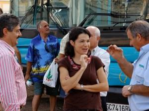 Isabel Santiago, concejala y portavoz de NC en el Ayuntamiento de Mogán