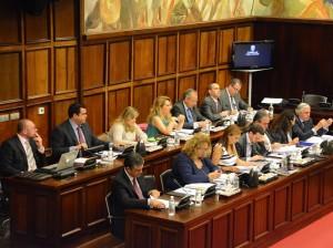 Pleno del Cabildo de Gran Canaria, abril 2014