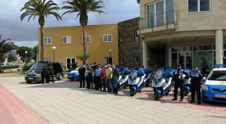 Santa Lucía invierte 87.000 euros en nuevos vehículos para la Policía Local