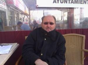 Santiago Vega, empresario de Santa Lucía en huelga de hambre