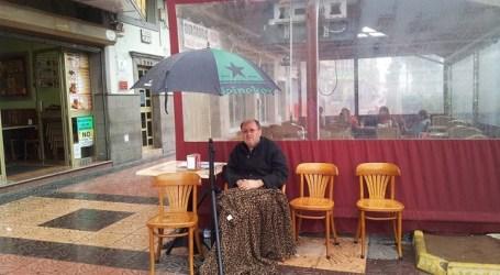 El empresario de Santa Lucía en huelga de hambre pierde 9 kilos de peso en una semana