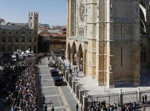 Isabel Carrasco, funeral