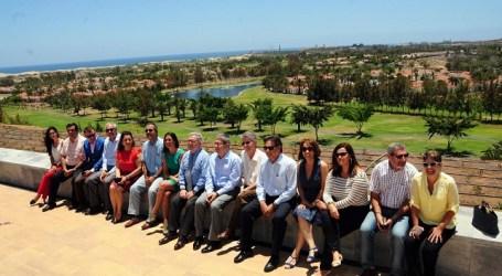 Políticos de las cuatro administraciones del Consorcio pasan revista a las obras