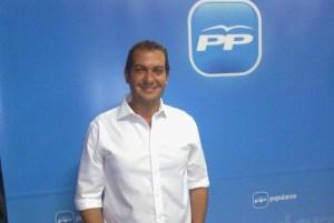 Marcos Rufo, concejal y portavoz del PP en el Ayuntamiento de Santa Lucía
